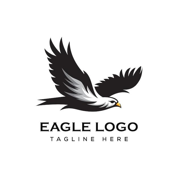 Logo Orła W Locie Premium Wektorów