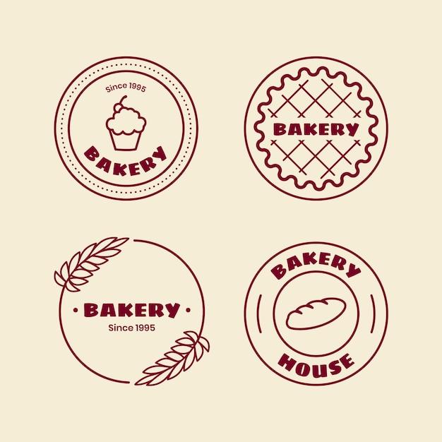 Logo Piekarni Retro Darmowych Wektorów