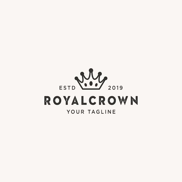 Logo royalcrown Premium Wektorów