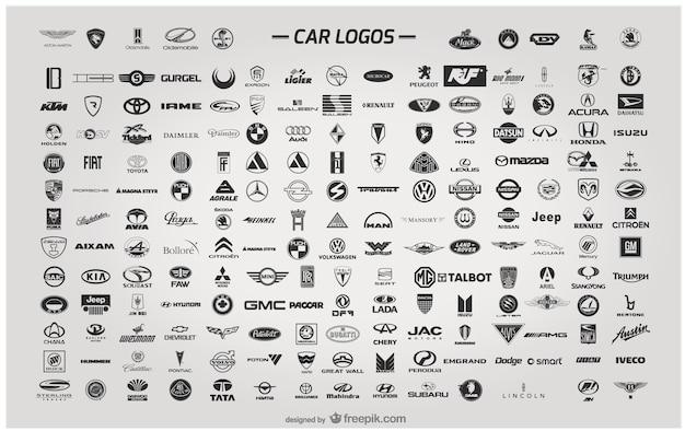 Logo wektor samochód Darmowych Wektorów