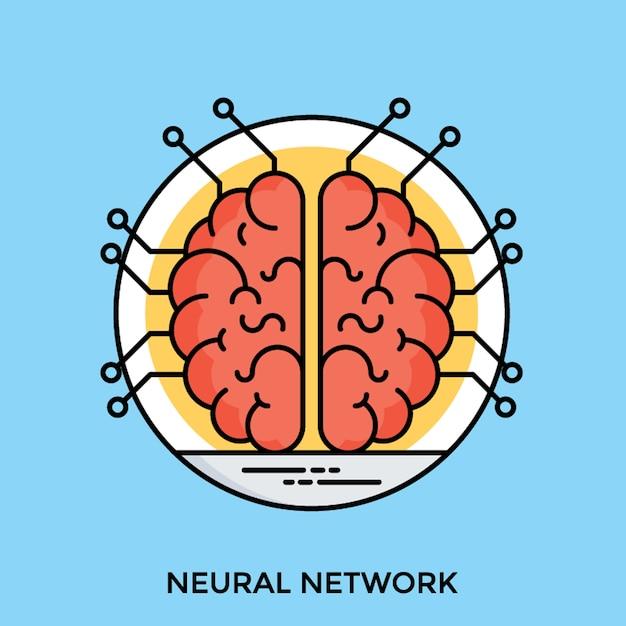 Ludzki Mózg Premium Wektorów