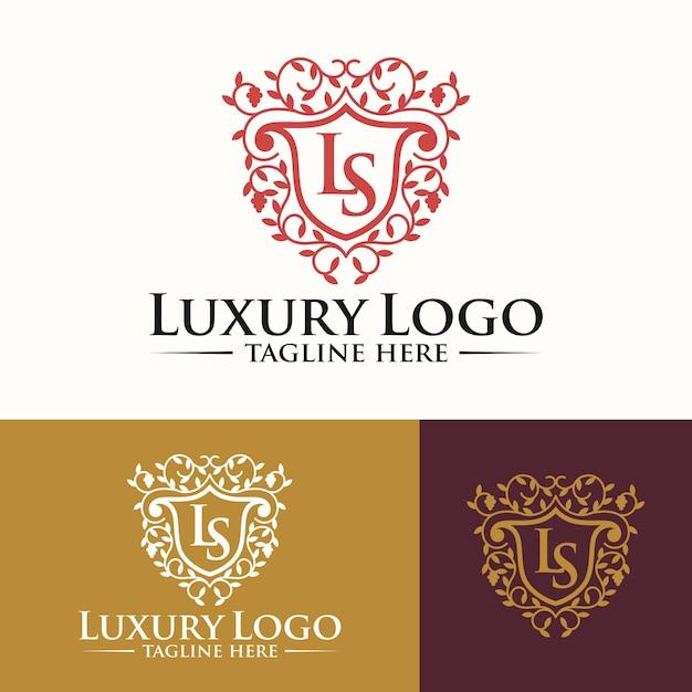 Luksusowe szablony logo Premium Wektorów