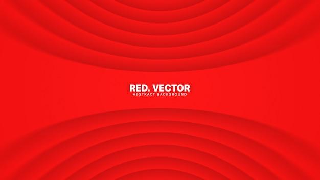 Luksusowy Czerwony Uroczysty Elegancki Streszczenie Tło Premium Wektorów
