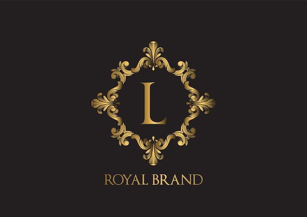 Luksusowy Szablon Logo. Premium Wektorów
