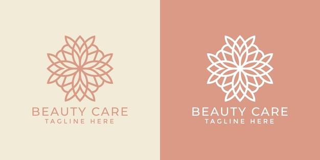 Luksusowy Szablon Projektu Ozdobnego Logo Mandali Dla Branży Spa I Masażu Premium Wektorów