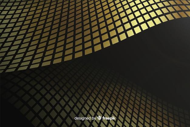 Luksusowy złoty fala tło Darmowych Wektorów