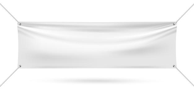 Makieta winylowa na białym tle Premium Wektorów