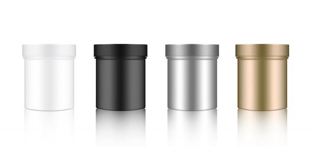 Makiety Realistyczne Jar Premium Wektorów