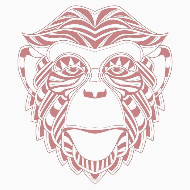 Małpa Premium Wektorów