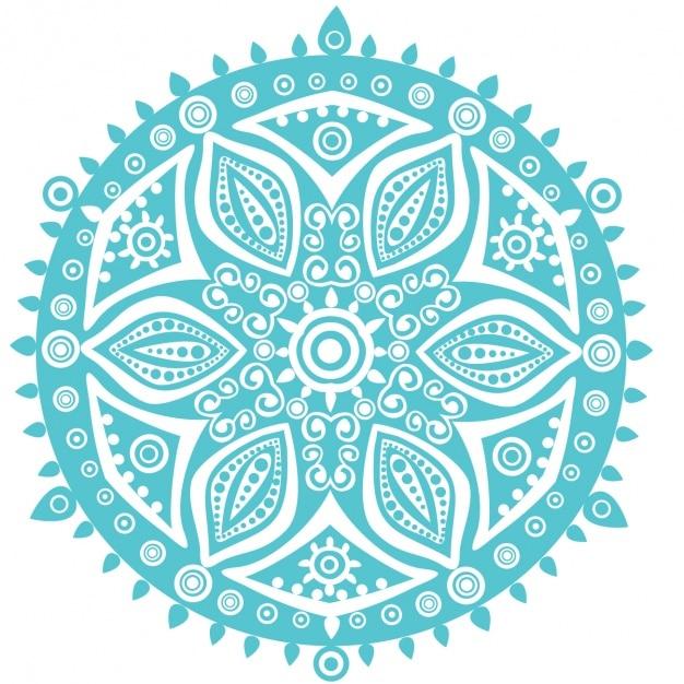 Mandala Wzór Tła Darmowych Wektorów