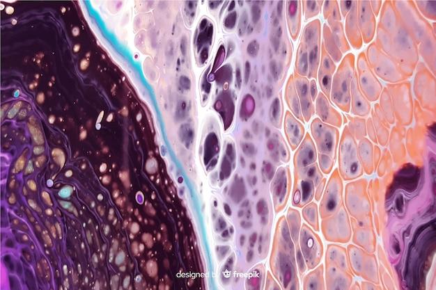 Marmurowa Farba Tekstury Tło Darmowych Wektorów