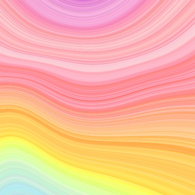 Marmurowy tęczy tekstury tło w pastelowych kolorach. Premium Wektorów
