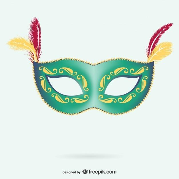 Maska na karnawał Darmowych Wektorów