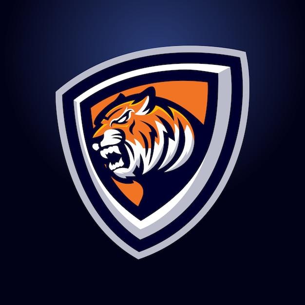 Maskotka Tygrys Premium Wektorów