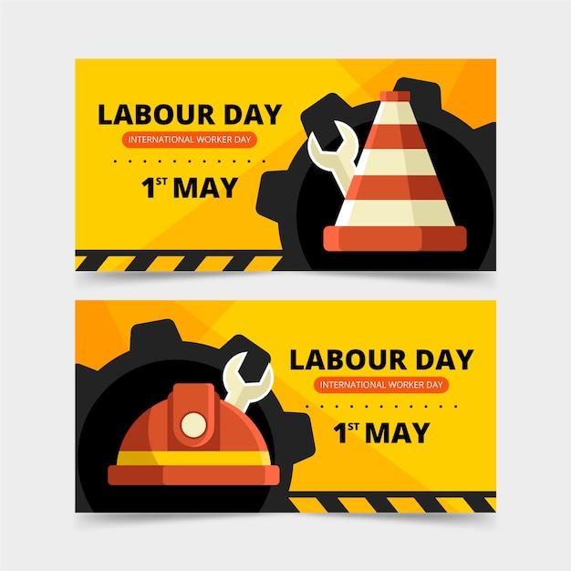 Mechaniczne Koła I Narzędzia Transparent Dzień Pracy Darmowych Wektorów
