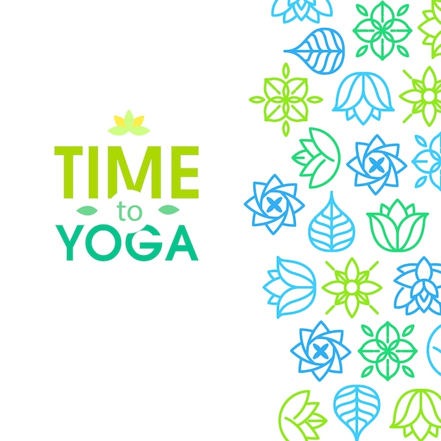 Medytacja zen cytat na tle organicznych tekstur Darmowych Wektorów