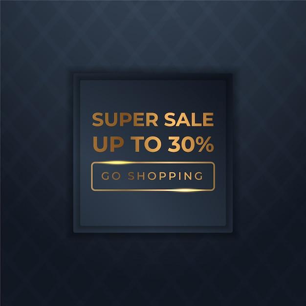 Mega Flash Sprzedaż Banerów Z Czarnym Złotem Na Sprzedaż Premium Wektorów
