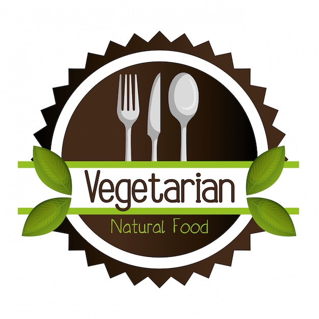 Menu wegetariańskie Darmowych Wektorów