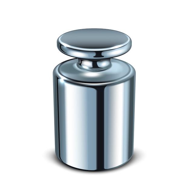 Metalowe Narzędzie Do Pomiaru Masy Kalibracyjnej Premium Wektorów