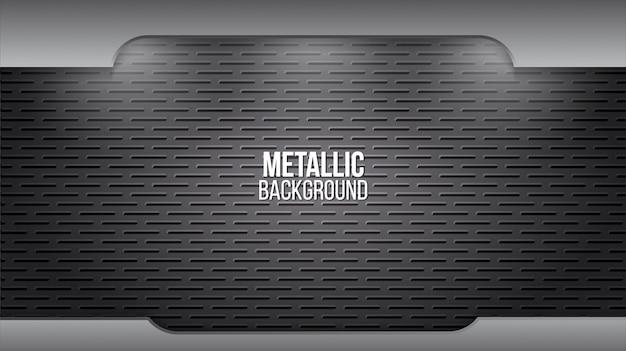 Metalu Tło Z Aluminiową Teksturą Premium Wektorów