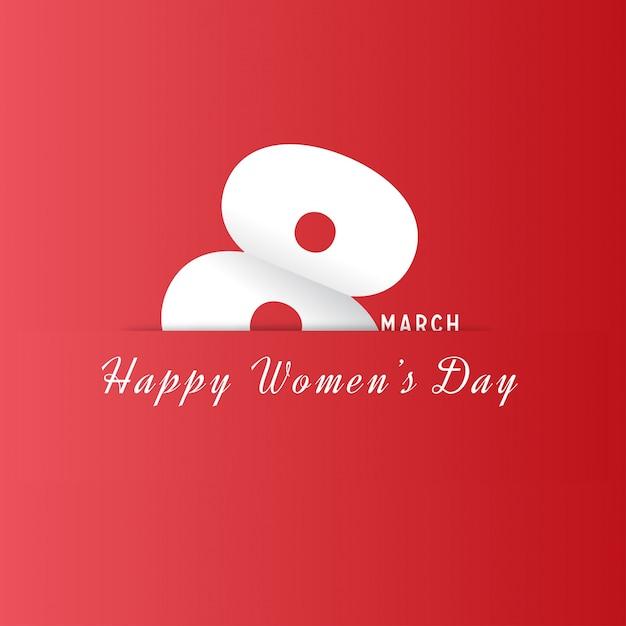 Międzynarodowy Dzień Kobiet 8-te Mecz Vector Icon Design Element Darmowych Wektorów
