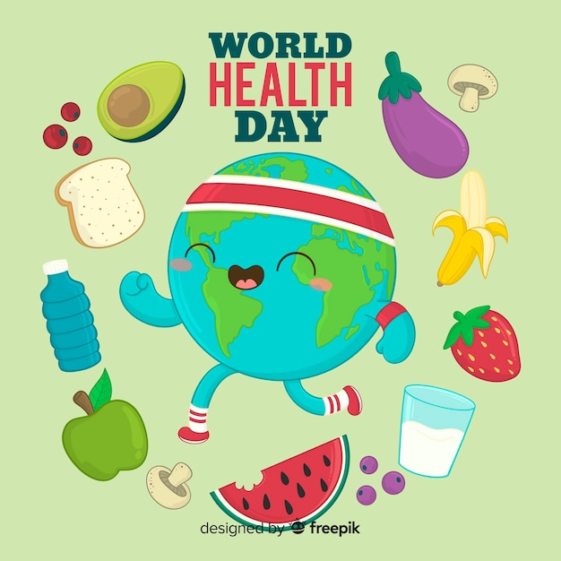 Międzynarodowy Dzień Zdrowia Darmowych Wektorów
