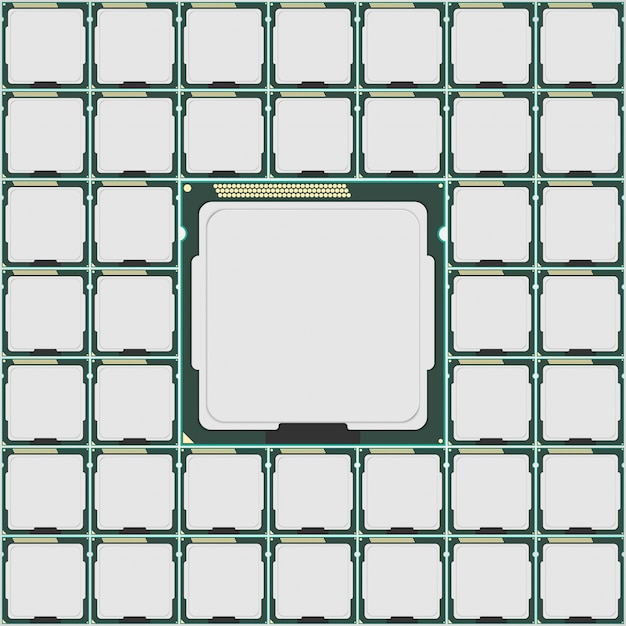 Mikroczip Elektroniki. Premium Wektorów