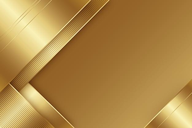 Minimalistyczne Złote Luksusowe Tło Darmowych Wektorów