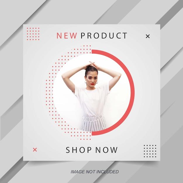 Minimalistyczny Szablon Transparent Sprzedaż Moda Premium Wektorów
