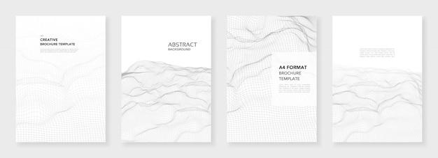 Minimalne szablony broszur Premium Wektorów