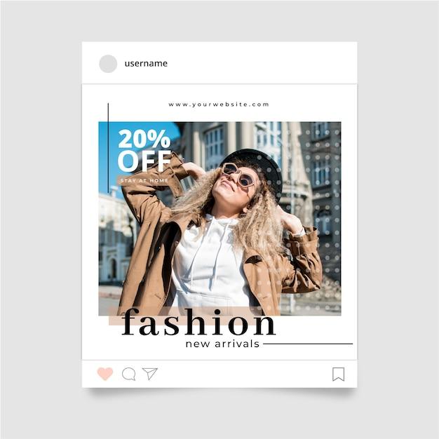 Moda Na Instagramie Darmowych Wektorów