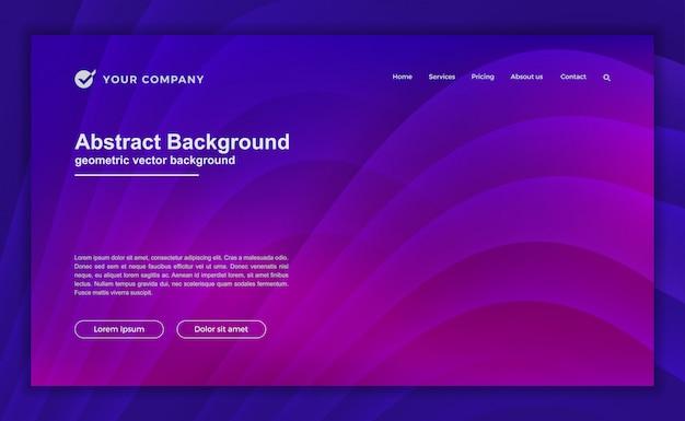 Modny abstrakcjonistyczny purpurowy tło dla twój strony docelowej Premium Wektorów
