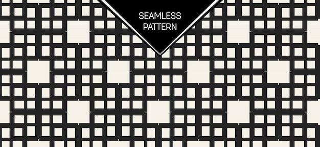 Monochromatyczny geometryczny wzór. Premium Wektorów