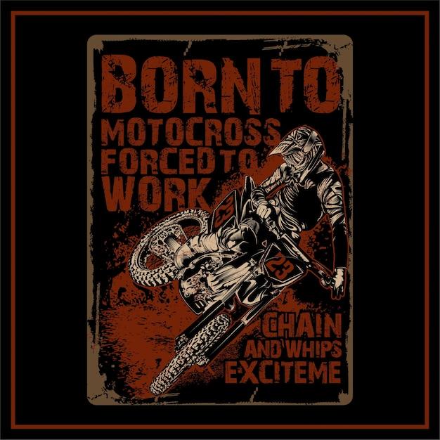 Motocross Premium Wektorów