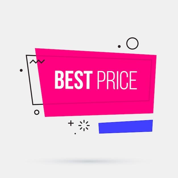 Najlepsza Cena Szablon Transparent W Stylu Geometrycznym Memphis Premium Wektorów