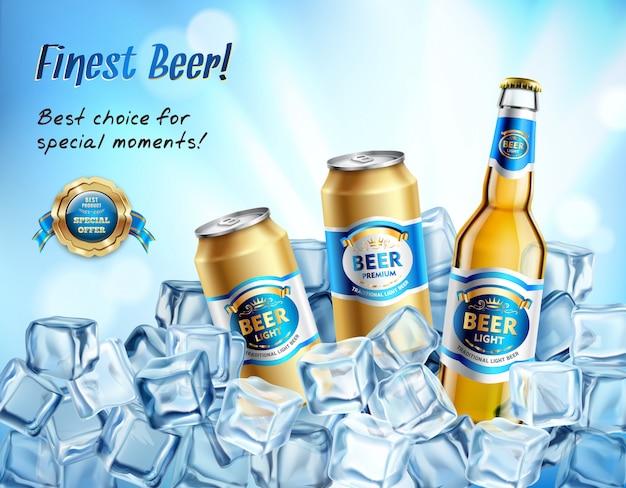 Najlepsza kompozycja piwa Darmowych Wektorów