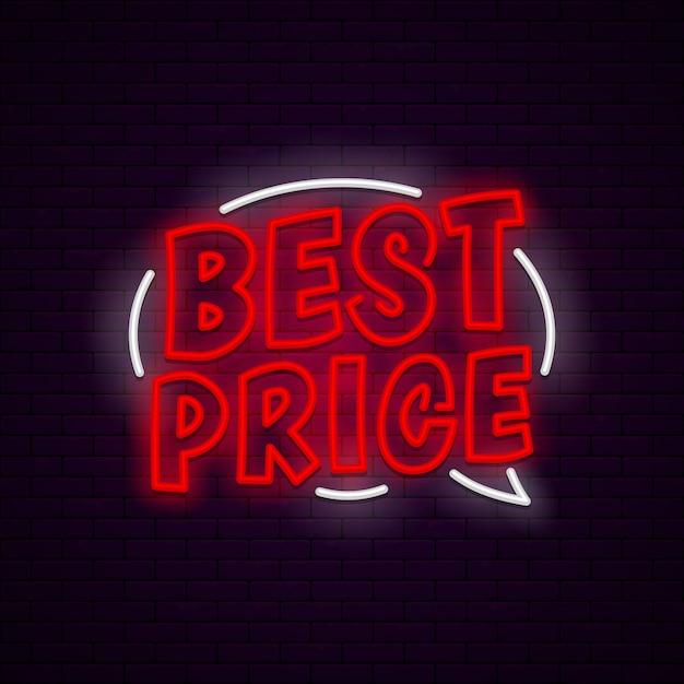Najlepszy baner cenowy Premium Wektorów