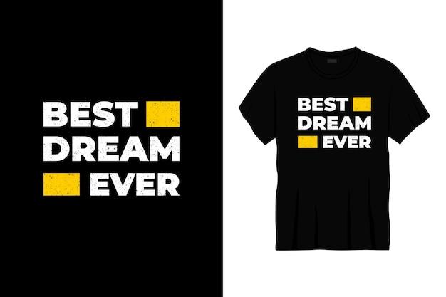 Najlepszy Projekt Koszulki Typografii W Historii. Premium Wektorów