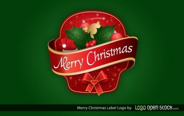Naklejki dekoracyjne ozdoby świąteczne szablon Darmowych Wektorów