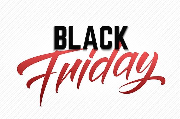 Napis Black Friday Sale Darmowych Wektorów
