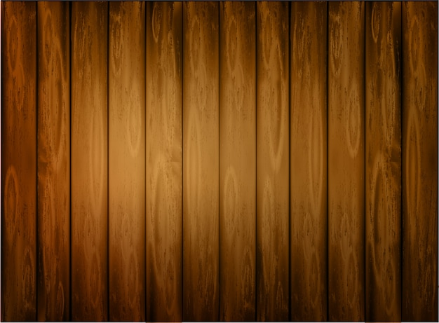 Naturalne ciemne drewniane tła. Premium Wektorów