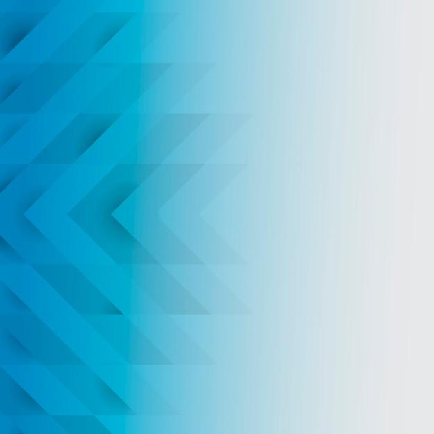 Niebieski 3d nowoczesny wzór tła Darmowych Wektorów