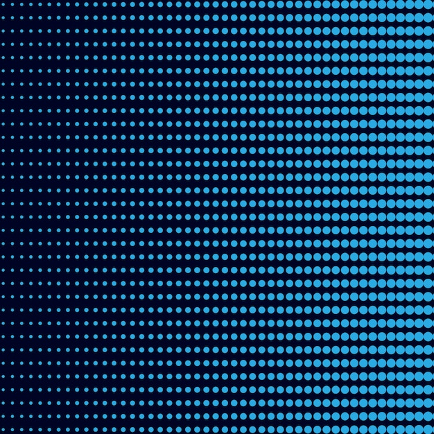 Niebieski gradient półtonów tło wektor Darmowych Wektorów
