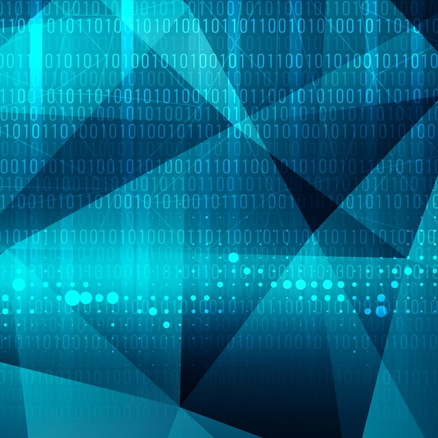 Niebieski Kolor Nowoczesna Technologia Motywu Tła Darmowych Wektorów