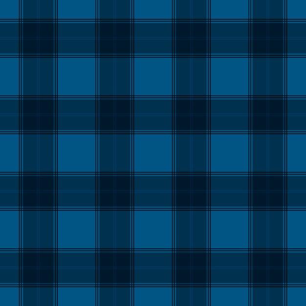 Niebieski Kratę Kolorowy Wzór Włókienniczych Premium Wektorów