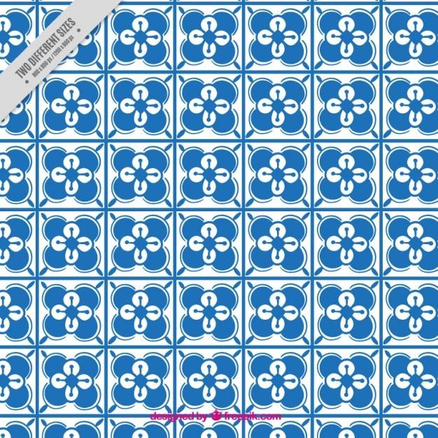 Niebieskie Kafelki W Tle Darmowych Wektorów