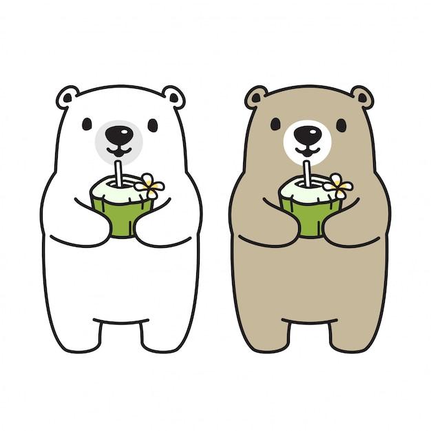 Niedźwiedź Premium Wektorów