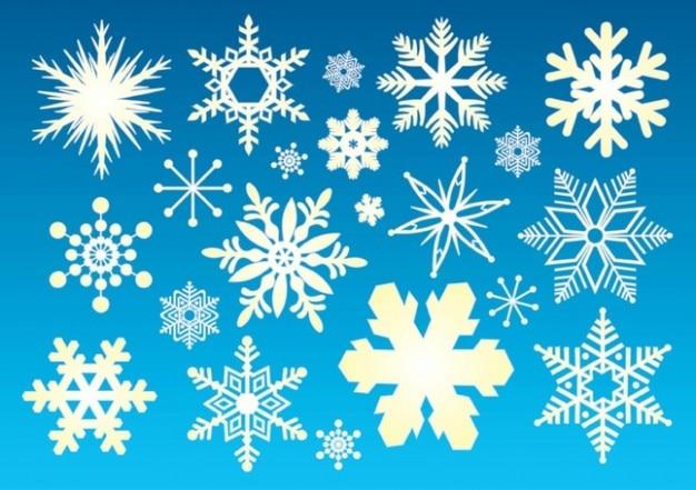 śnieg grafiki Darmowych Wektorów