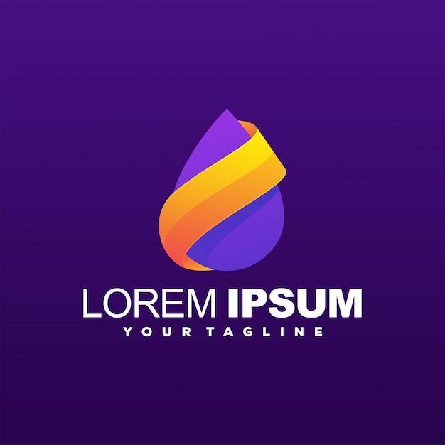 Niesamowite Logo Gradientu Premium Wektorów