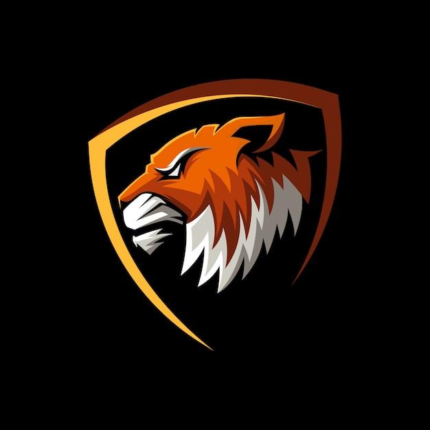 Niesamowite Maskotka Tigerowa Premium Wektorów